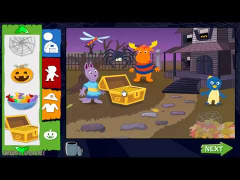 The Backyardigans Trick or Treat with the Backyardigans Full Gameplay Online Game