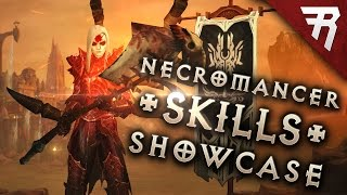 Necromancer skills - Part 4/4 (Diablo 3 2.6 beta gameplay)