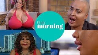 Extraordinary People With Extreme Cosmetic Surgery   This Morning
