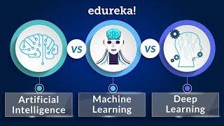 AI Vs Machine Learning Vs Deep Learning | Machine Learning Training With Python | Edureka