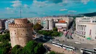 Above Thessaloniki - DJI Phantom 3