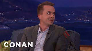 "Frankie Muniz: Bryan Cranston Told Me Not To Do ""Dancing With The Stars""  - CONAN on TBS"