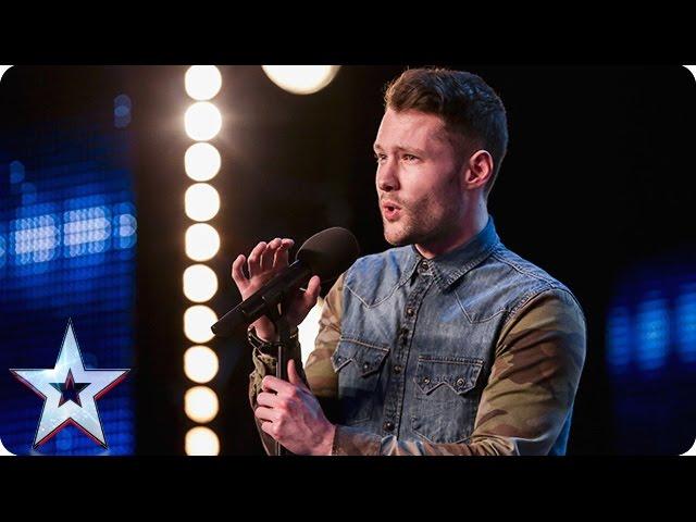 Golden boy Calum Scott hits the right note   Audition Week 1   Britain's Got Talent 2015