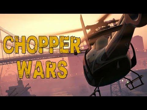 CHOPPER WARS! (GTA V Online w/ Nanners, Syndicate, & Firefox)