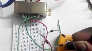 How to convert 110v / 120v / 220v / 230 volts AC to 12v DC using transformer. AC to DC converter