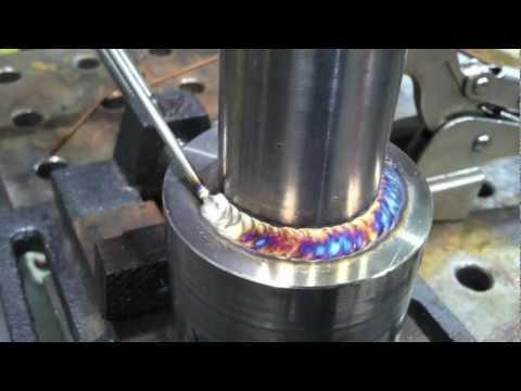 Tig Welding Stainless Steel Walking the Cup vs TIG Finger