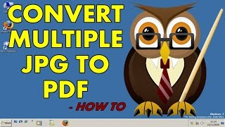 [Without Software] How to Convert Multiple JPG files to PDF files
