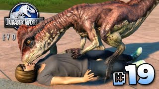 DINOSAUR KISSES!!! - Jurassic World Evolution FULL PLAYTHROUGH   Ep19 HD