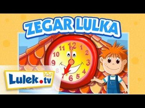 Zegar Lulka Wiem ile zjem Film edukacyjny dla dzieci Lulek.tv
