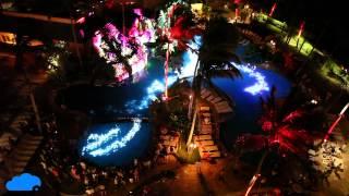 First ever Raylight4D Pool projection Installation - Sheraton Waikiki Beach
