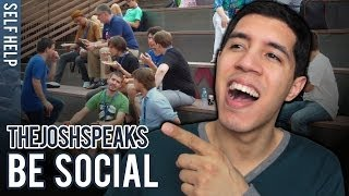 How To Be Social With People