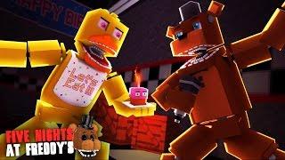 Minecraft: FIVE NIGHTS AT FREDDY'S #38 - BRIGA DE ANIMATRONICS!