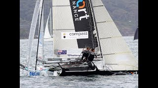 18 Footers Spring Series 2018 - Race 3 - Mick Scully Memorial Trophy - Club Championship Race 1