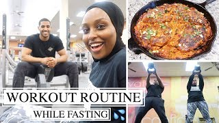 WORKOUT ROUTINE WITH MY BROTHER + DELICIOUS IFTAR RECIPE   #TheRamadanDaily   Aysha Abdul
