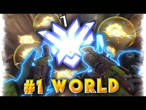 1 World Rank Junkrat Quot Pvptwitch Quot Overwatch Montage