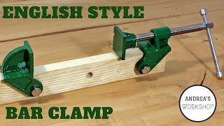 English Style Bar Clamps (Sash Clamps)