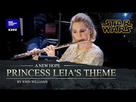Star Wars Princess Leia's Theme The Danish National Symphony Orchestra Live