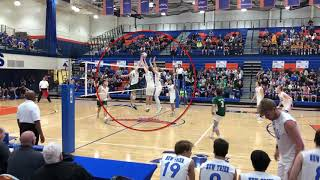 Jay Saravis State Finals Volleyball 2018