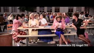 Grease Megamix - John Travolta Ft Olivia Newton (Video HD)