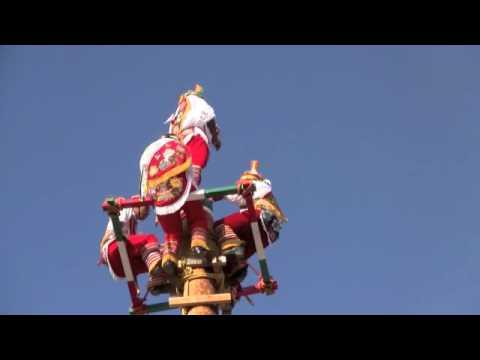 Danza de los Voladores de Papantla at Indian Summer Festival (Milwaukee, WI)