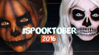 WELCOME TO #SPOOKTOBER 2016 • TEASER/TRAILER • Alycia Marie