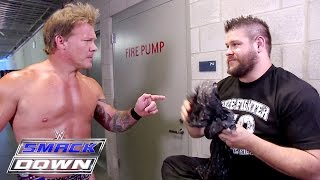 Kevin Owens finds Chris Jericho's scarf: SmackDown, July 7, 2016
