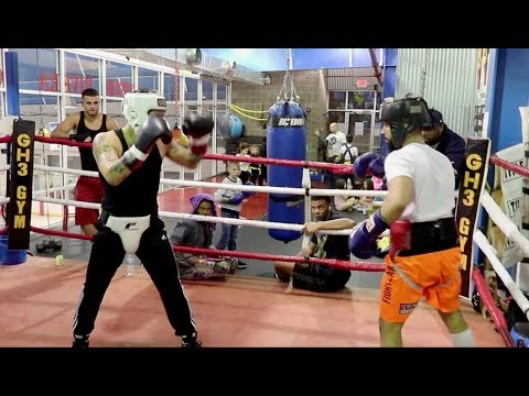 ADAM SALEH S NEW BOXING MATCH I CHALLENGED HIM