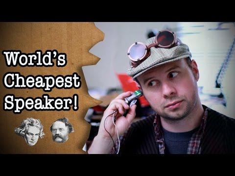 World s cheapest speaker