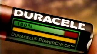 Duracell PowerCheck Commercial 1997