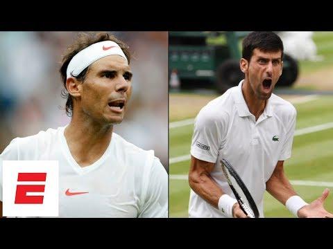 Xxx Mp4 Wimbledon 2018 Highlights Novak Djokovic Beats Rafael Nadal In Epic 2 Day Semifinal ESPN 3gp Sex