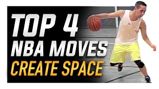 Top 4 NBA Moves to Create Space: World's Best Basketball Moves