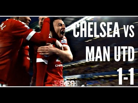 Chelsea vs Manchester United 1-1 (HD)