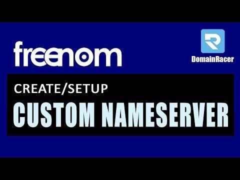 Freenom Private DNS - Easy Custom NameServer Setup 2018