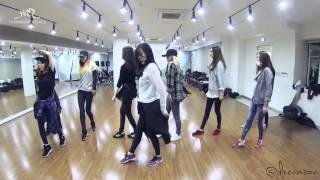 [HD MIRROR] SNSD - Mr Mr Dance Practice