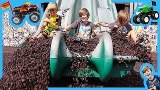 Monster Trucks For Children Playground Adventure