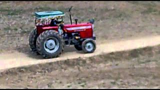 tractor bidder marjan MF 385 and MF 260