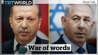 War of words between Turkey and Israel