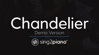 Chandelier (Piano Karaoke Version) Sia