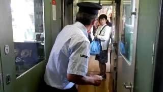 東武6050系 解結作業を車内から 下今市駅