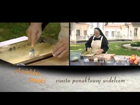 Placek z jabłkami i budyniem Anielskie smaki odc. 1.flv
