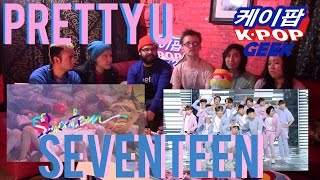SEVENTEEN(세븐틴) Pretty U(예쁘다) MV & Comeback stage @인기가요 Inkigayo (Super Reaction)