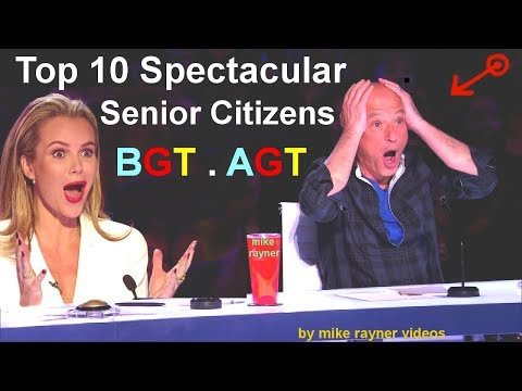 Xxx Mp4 Top 10 Spectacular Senior Citizens On America S And Britain S Got Talent Best AGT BGT Auditions 3gp Sex