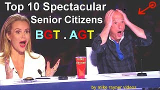 Top 10 Spectacular Senior Citizens on America
