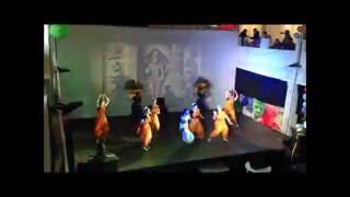 Holi Mela Festival 2015 - Seval Kodi Parakkuthada (Tamil Folk Dance) (Amritsar Project Moscow)