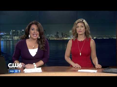 XETV-TDT - CW6 News at 10 - June 2016