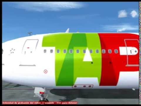 Maiquetia SVMI Madeira LPMA PARTE 4 Flight simulator