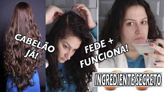 COMO FAZER O CABELO CRESCER COM APENAS 1 INGREDIENTE! =O