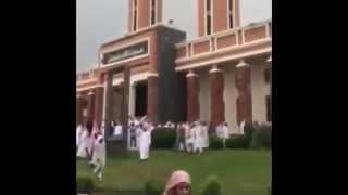 بالفيديو لحظات وداع شهداء مسجد قوات الطوارئ بعسير