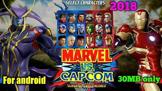 How to download Marvel vs Capcom game for android_Please first subscribe my channel