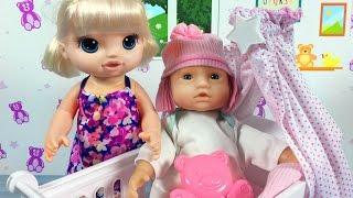 Baby Alive Oyuncak Bebek   Kötü Bebek Kardeşine Kötü Davranıyor   EvcilikTV